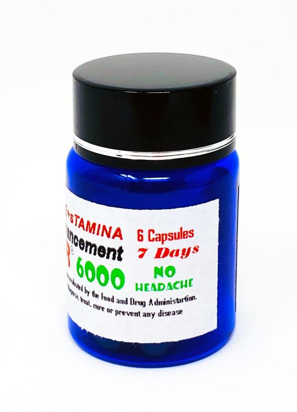 Booster 3000 Male Enhancement 6 Pill Bottle