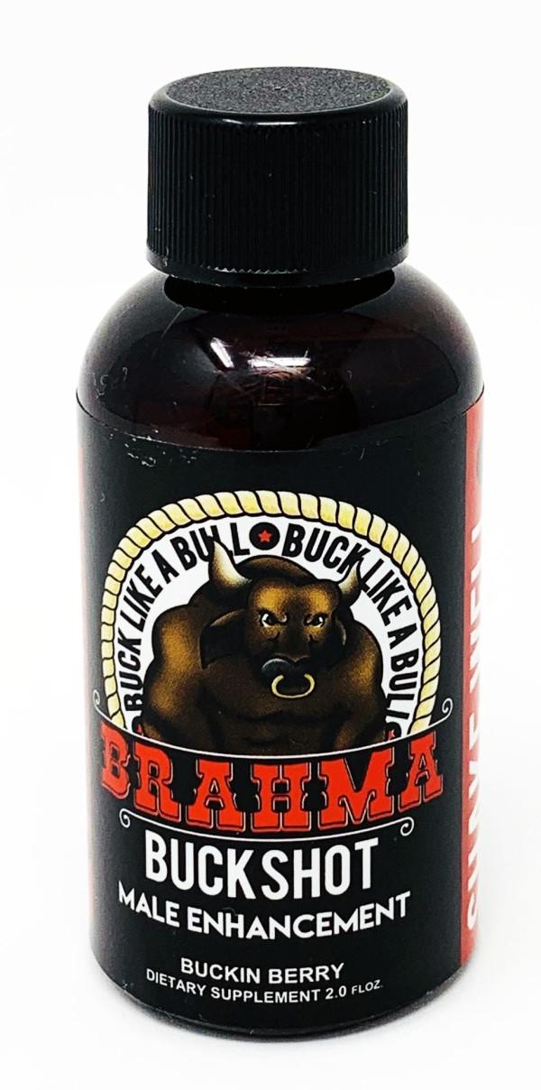 Brahma 2oz Male Enhancement Buck Shot front