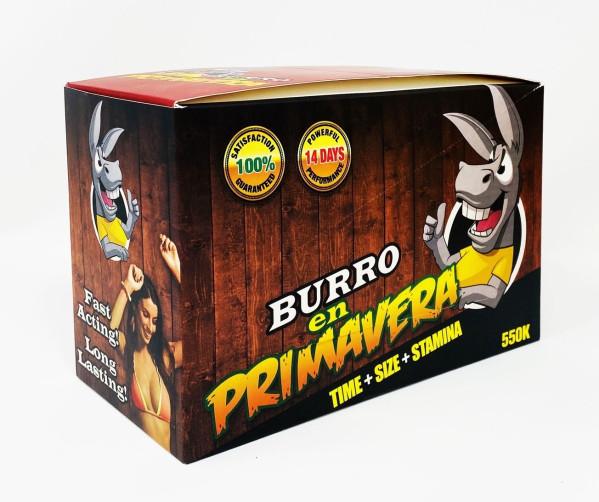 Burro 550K Gold Male Enhancement box