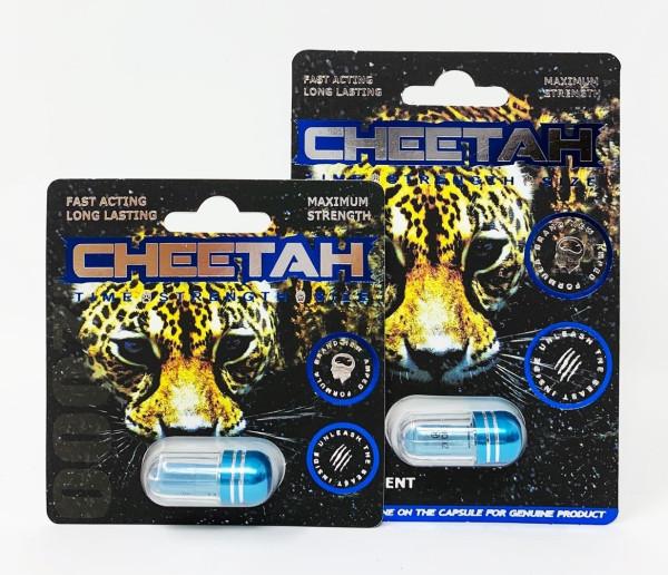 Cheetah Blue Male Enhancement