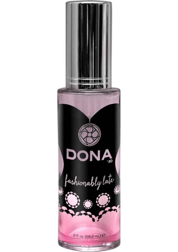 Dona Pheromone Infused Perfume Fashionably Late 2 oz