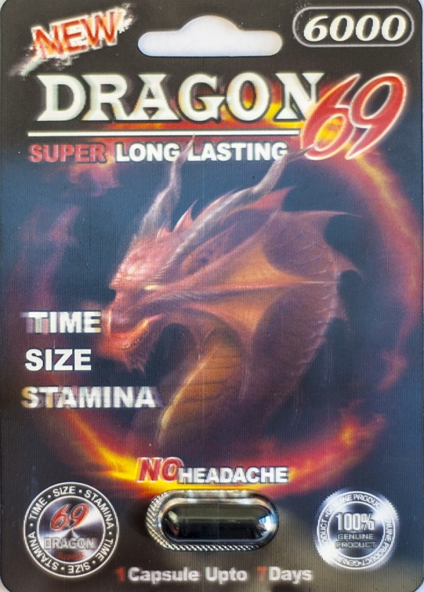 New Dragon 69 6000 Male Sexual Performance Enhancer 1 Pill