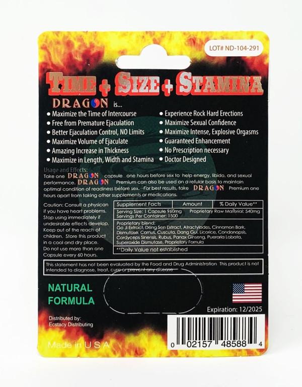 Dragon 12000 Platinum Male Enhancement capsule