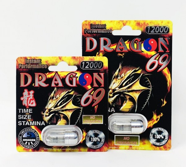 Dragon 12000 Platinum Male Enhancement Pill by Ecstacy