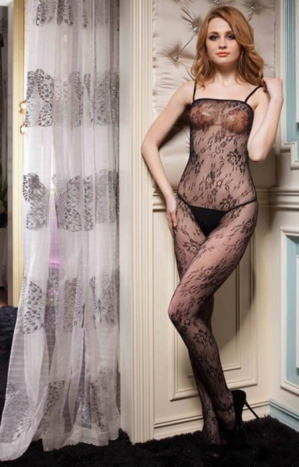 Lady's Keller Legs Fishnet Body Stocking 818JT062 Yelete Group Lingerie