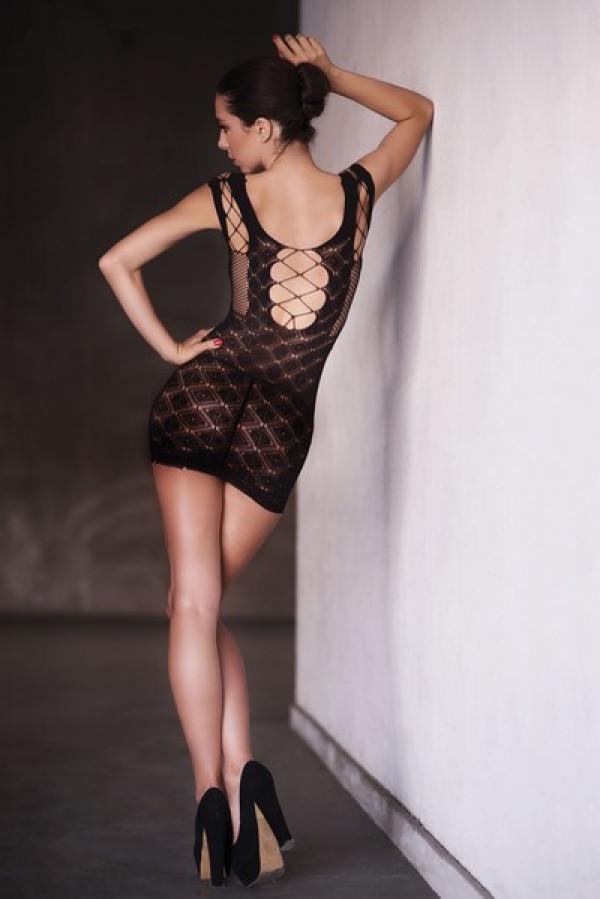 Lady's Keller Legs Fishnet Body Stocking 818JT087Q Yelete Group Lingerie