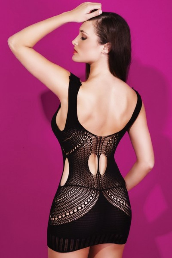 Lady's Keller Legs Fishnet Body Stocking 818JT089 Yelete Group Lingerie