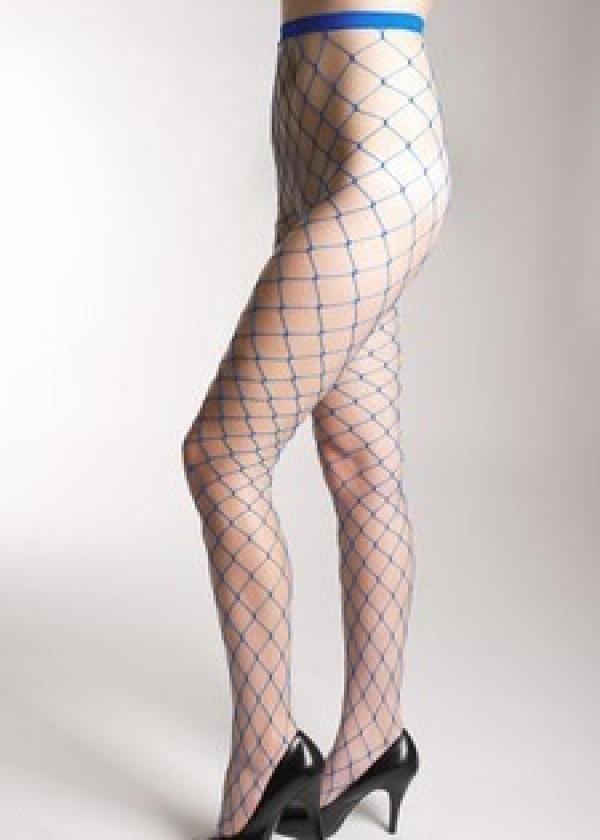 Lady's Single Line Fishnet Tights Pantyhose 828HD 002Yelete Group Lingerie