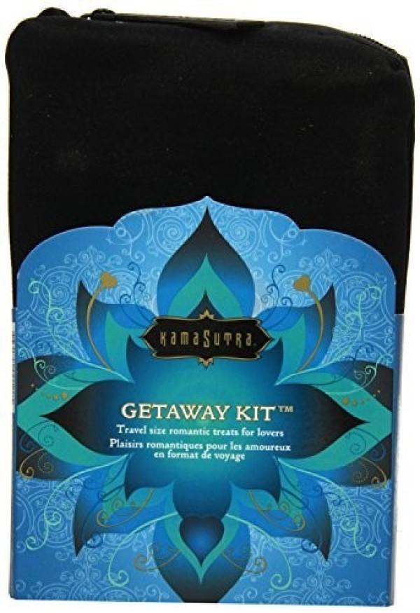 Getaway Kit Travel Size Romantic Treats For Lovers Gel Kamasutra