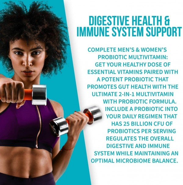 GoBiotix Probiotic Multivitamin Probiotics Immune Boost