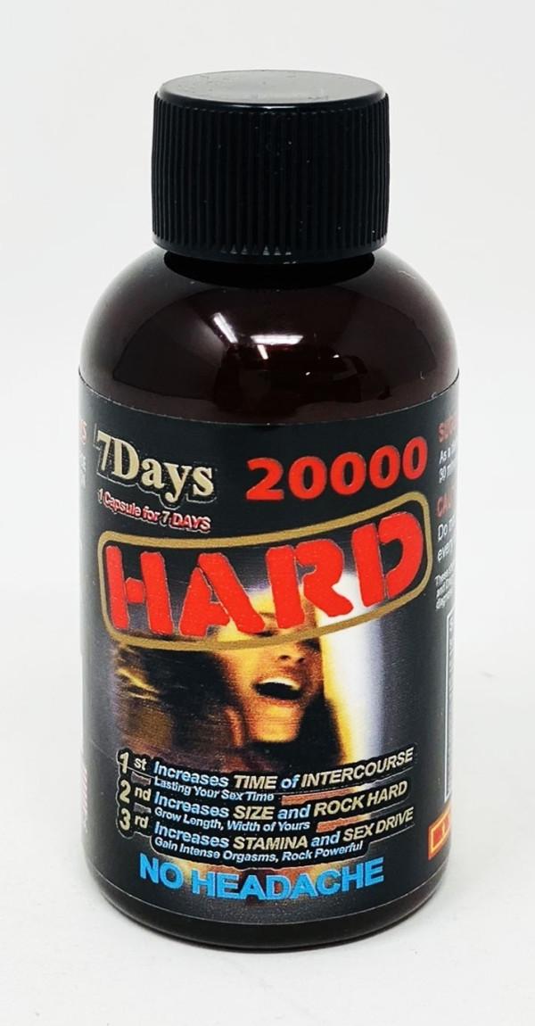 Hard 20000 Male Sexual Enhancement 2oz Drink Shot