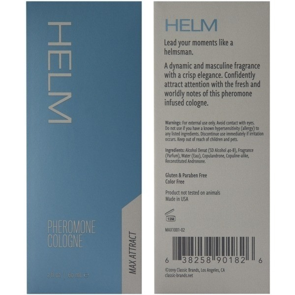 Helm Pheromone Cologne 2 Oz