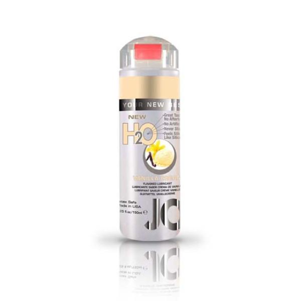 Jo H2O Flavored Lubricant Vanilla Cream 5.25 fl.oz/ 150ml System Jo