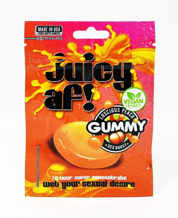 Juicy AF Female Enhancer Gummy Vegan Friendly 3500mg