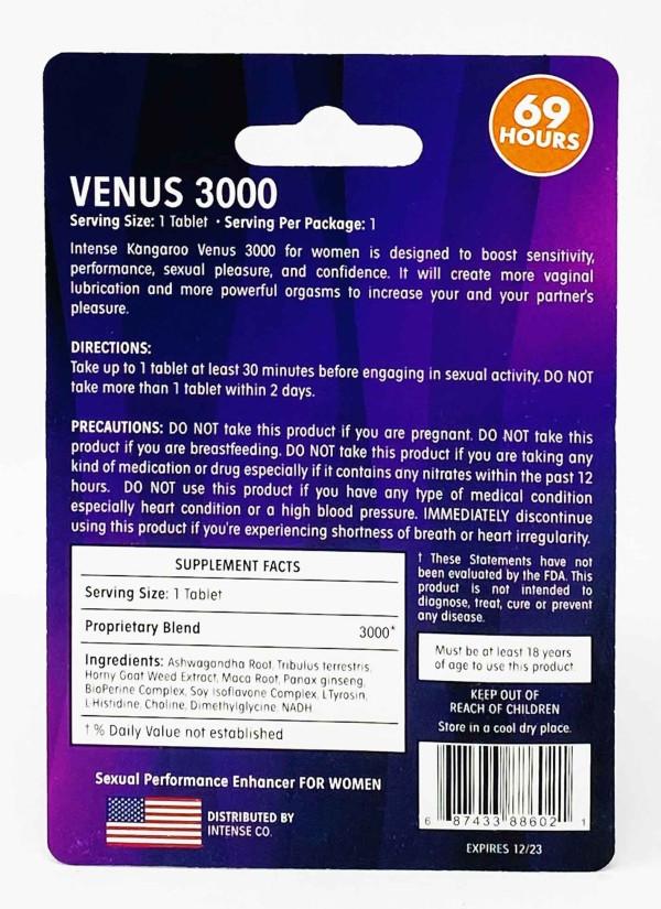 Kangaroo Violet Venus 3000
