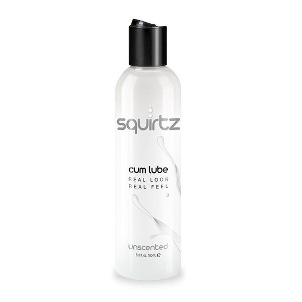 Squirtz Cum Lube Water Based Toy Friendly Unscented 6.3 Oz