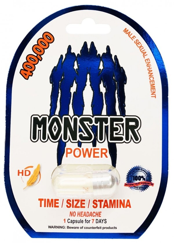 Monster Power 400000 Male Sexual Enhancement Herbal Pill One