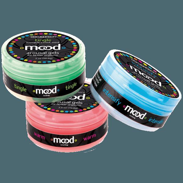 Mood Arousal Gels For Hotter Orgasm 2.5 oz