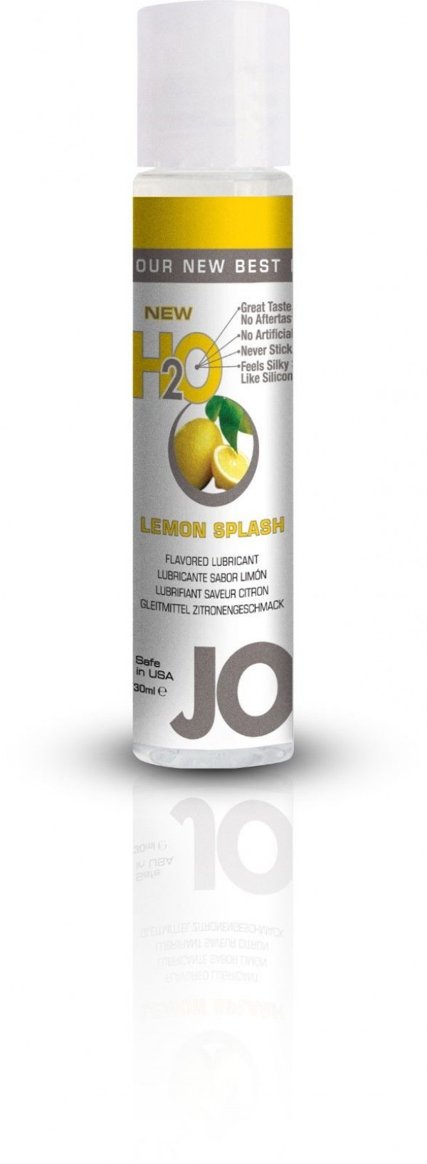 Jo H2O Lemon Splash Lubricant 1 fl.oz/ 30ml Travel Size