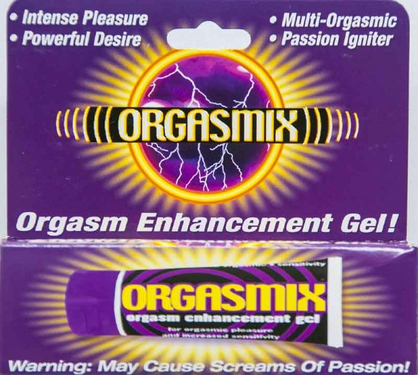 Orgasmix Orgasm Enhancement Gel 1Oz Desire Passion Igniter