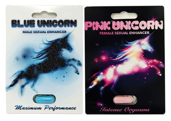 Party Package Blue Pink Unicorns