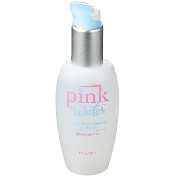 Pink Water Based Lubricant Aloe Paraben Free 1.7oz 50ml TSA Safe