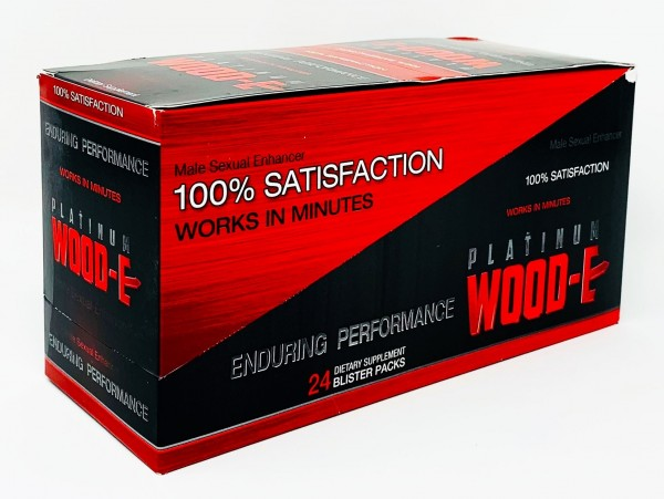 Platinum Wood-E 1250 Male Sexual Pill