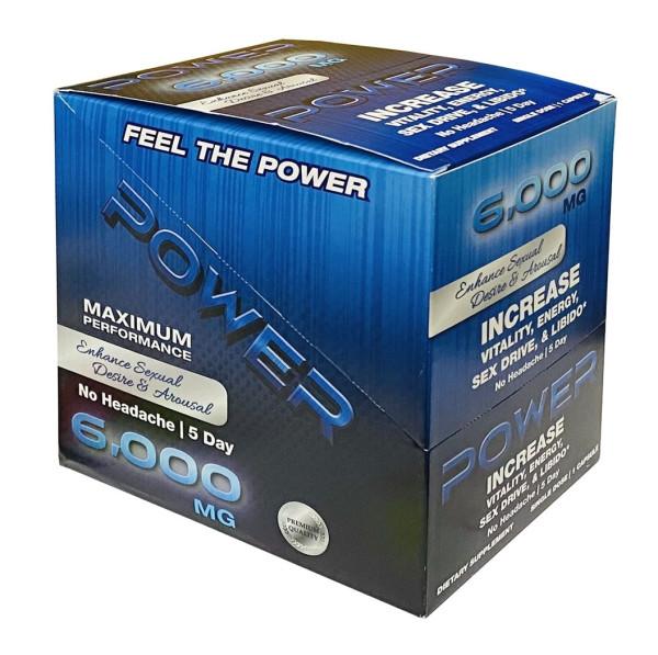Power 6000mg Maximum Performance Male Enhancement Blue