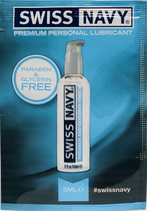 Premium Personal Lubricant 5ml Swiss Navy Single Use
