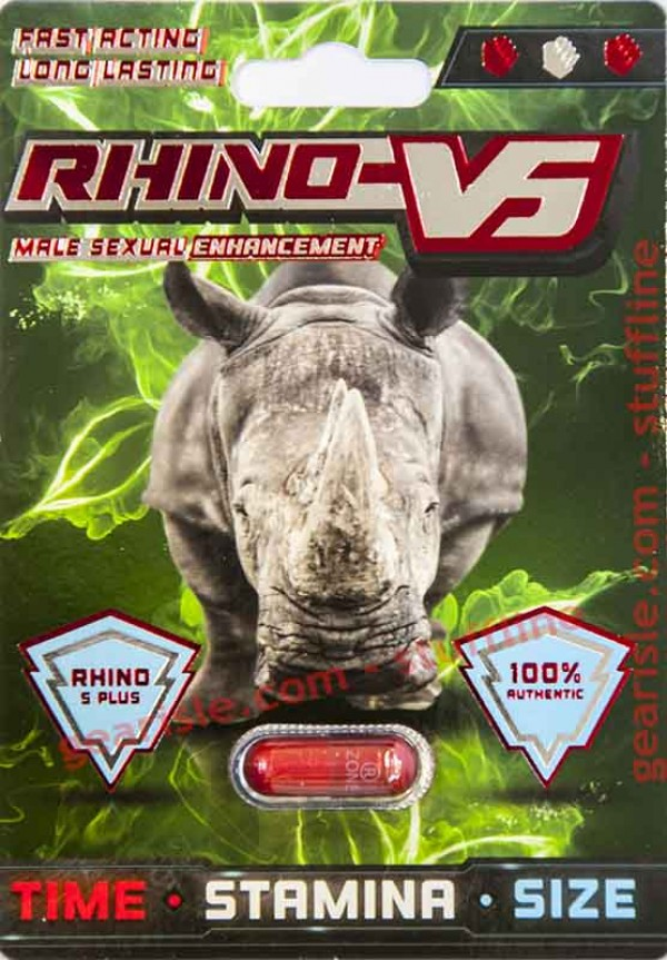 Rhino V5 Plus 3000 Male Sexual Enhancement