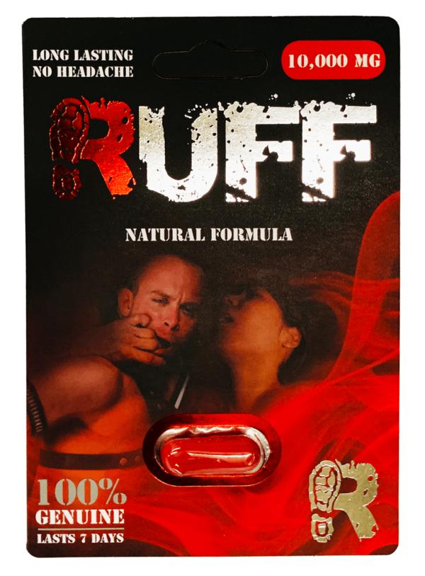 RUFF 10000mg Natural Formula Male Enhancement Red