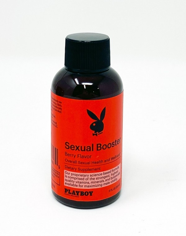Playboy Sexual Booster Berry Flavor Male Enhancement