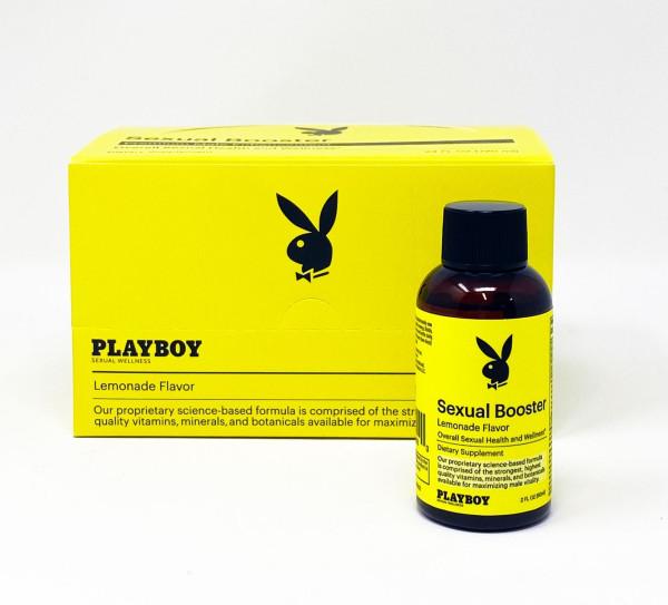 Playboy Sexual Booster Lemonade Flavor Male Enhancement 2 FL Oz