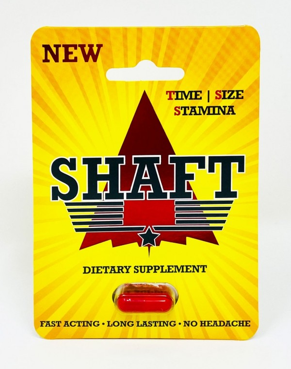 Shaft Single Pill Male Libido Enhancement