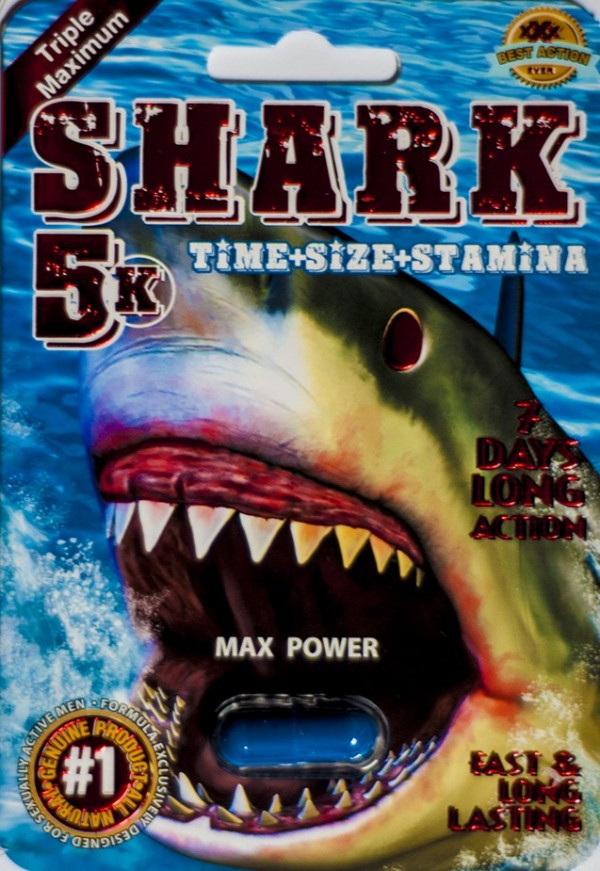 Shark 5K Triple Maximum Sexual Enhancement Pill Max Power For Male