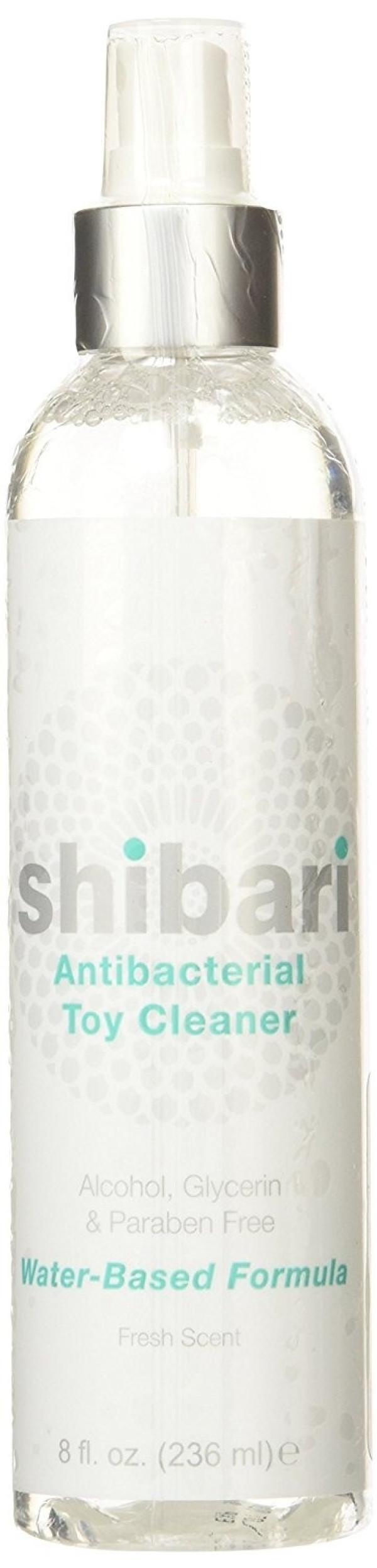 Shibari Water Based Antibacterial Toy Cleaner 8oz Spray Head