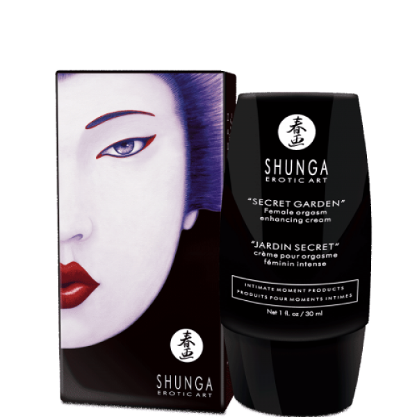 Shunga Secret Garden Clitoral Gel Female Orgasm Cream Intense