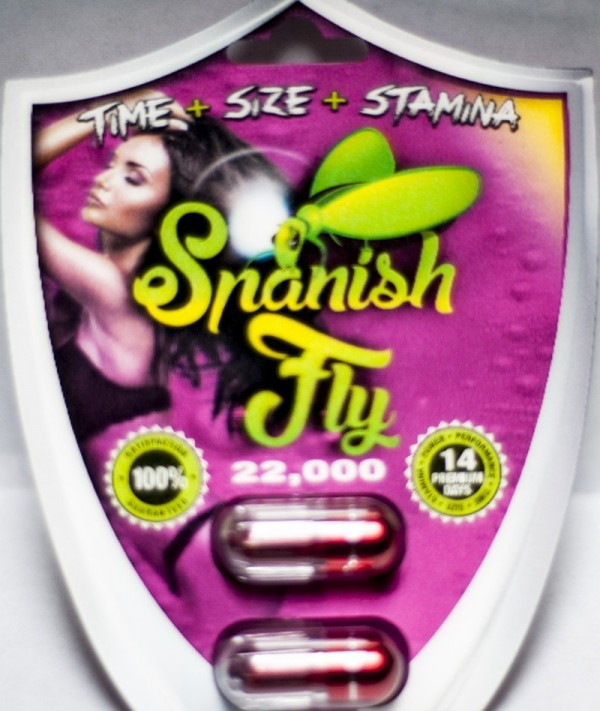 Spanish Fly 22,000 Double Red Pill Male Enhancement