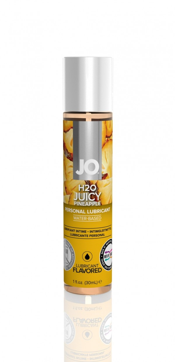 Jo H2O Juicy Pineapple Lubricant 1 fl.oz/ 30ml Travel Size