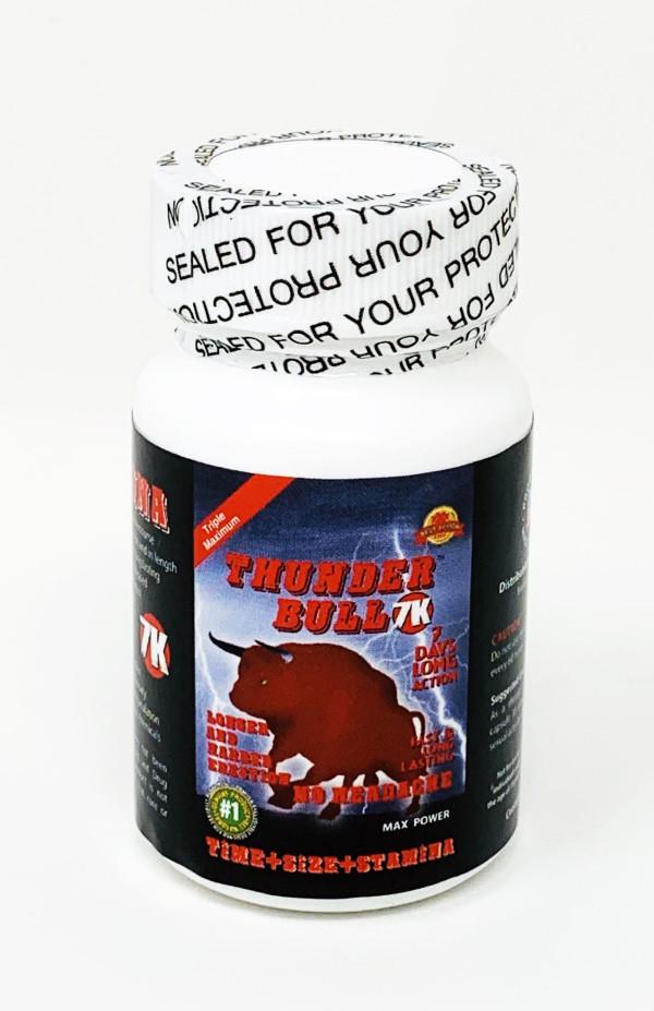 Thunder Bull 7K Male Enhancement 6 Pill per Bottle