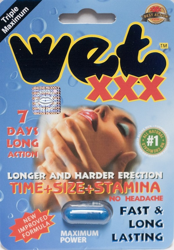 Wet XXX 2500pwr 7 Days Premium Triple Maximum Enhancement for Men 1 Pill