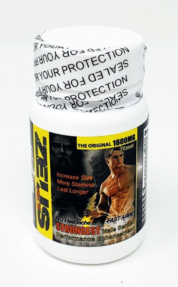 Zeus Plus 3 Count Bottle Male Libido Enhancement