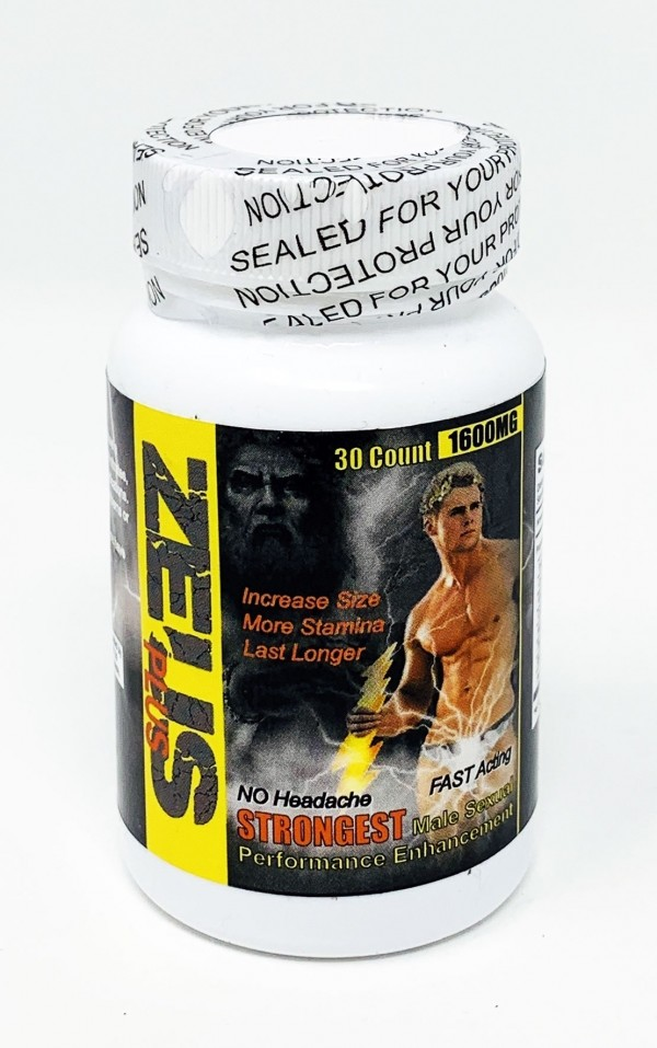 Zeus 1600mg Male Enhancement 30 Counts Bottle Pill